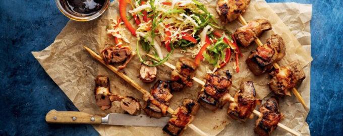 Шашлык из говяжьей печени – пошаговый кулинарный рецепт с фото