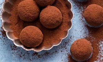 Шоколадные трюфели – пошаговый рецепт с фото