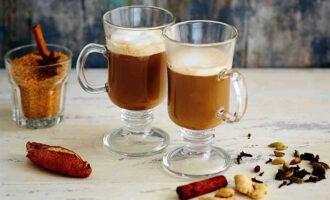 Глинтвейн с кофе и коньяком – пошаговый рецепт с фото