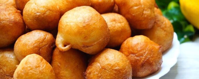 Пончики на кефире – пошаговый рецепт с фото