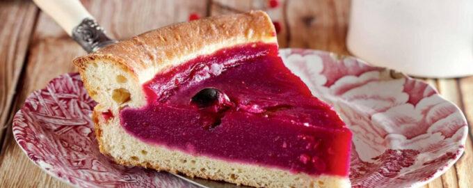 Пирог с клюквой – пошаговый кулинарный рецепт с фото