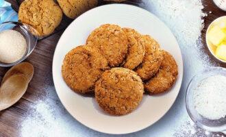 Домашнее овсяное печенье с мёдом и майонезом – пошаговый рецепт с фото