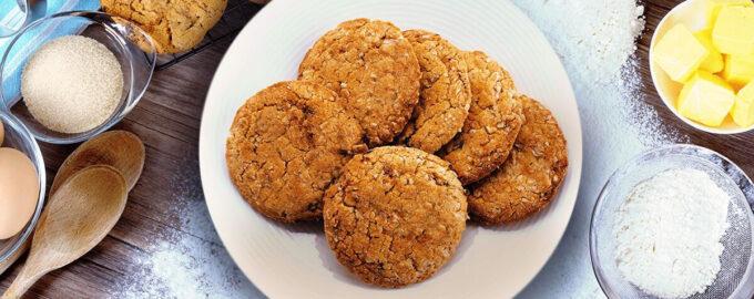 Овсяное печенье – пошаговый рецепт с фото