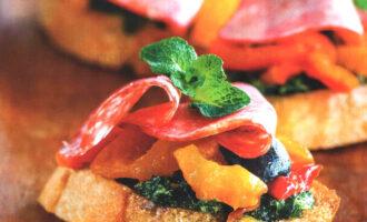 Испанские пинчос – пошаговый кулинарный рецепт с фото