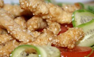 Курица в семечках – пошаговый рецепт с фото
