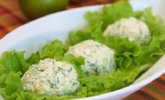 Творожно-сырные шарики – пошаговый рецепт с фото