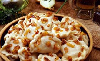 Вареники с фасолью и грибами – пошаговый рецепт с фото