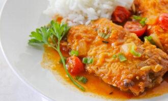 «Пьяная» рыба, тушённая в пиве – пошаговый кулинарный рецепт с фото