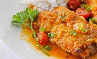 Рыба, тушённая в пиве – пошаговый рецепт с фото