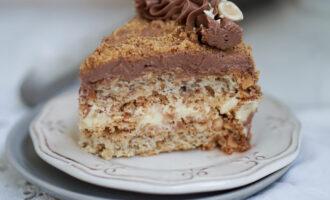 «Киевский торт» с кремом «Шарлотт» – пошаговый рецепт с фото