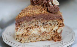 «Киевский» торт – пошаговый рецепт с фото