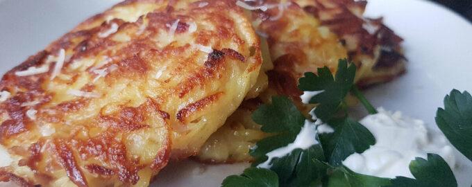 Картофельные оладьи – пошаговый рецепт с фото