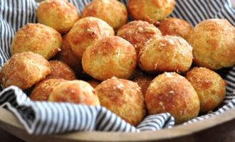 Сырные булочки – пошаговый рецепт с фото