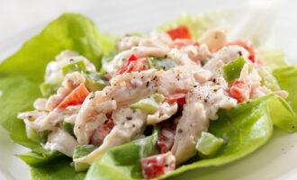 Салат с кальмарами – пошаговый рецепт с фото