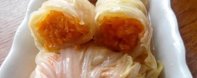 Маринованные голубцы с морковью по-корейски