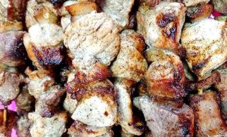 Шашлык из свинины – пошаговый рецепт с фото