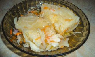 Квашеная капуста кусками с морковью – пошаговый рецепт с фото. Как вкусно засолить капусту