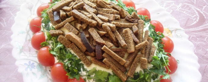 Салат «Королевский» – пошаговый рецепт с фото