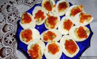 Яйца фаршированные – пошаговый рецепт с фото