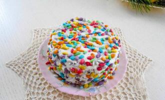Песочный торт с грецкими орехами «Камешки» – пошаговый рецепт