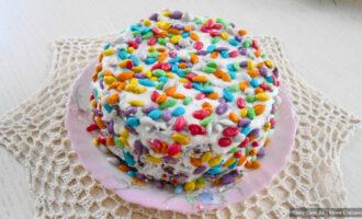 Песочный торт с орехами – пошаговый рецепт с фото