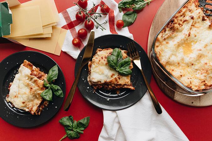 Итальянская кухня. Самые популярные блюда: лазанья