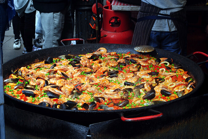 Испанская кухня – паэлья